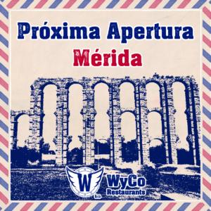 Próxima apertura WyCo Restaurants en Mérida